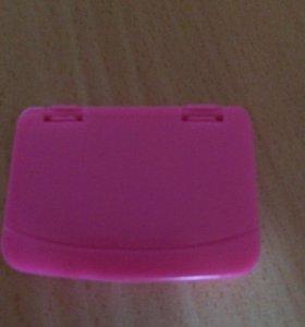 Ноутбук для кукол розовый