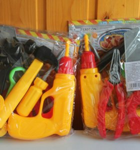 Набор инструментов. Игрушки для мальчиков.