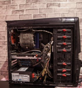 Стационарный ПК. Core i7, RAM 16 гб