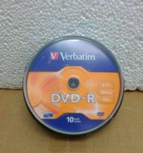 Чистые болванки DVD