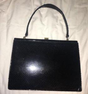 Винтажная дамская сумочка