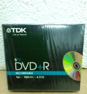 Оптический диск DVD+ R