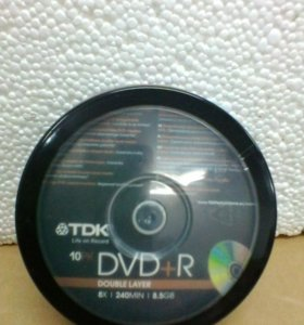 DVD+ R TDK 8.5Gb DL