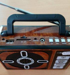 Беспроводная колонка, все виды флешек, радио