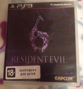 Resident evil 6 (PS3)