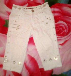 Белые шорты, штаны