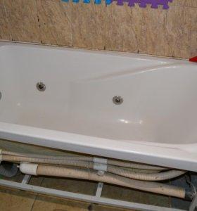 Гидромасажная акриловая ванная б/у