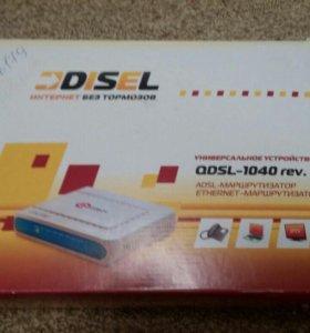 Qdsl-1040 rev.B1 Ethernet-adsl-модем-маршрутизатор