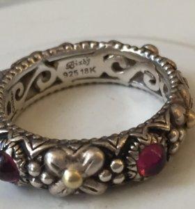 Брендовое серебряное кольцо