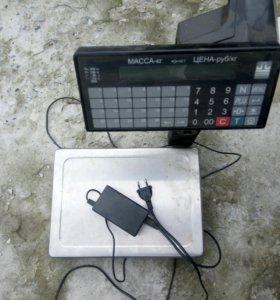 Весы печатающие ВМП-15.2-Ф1