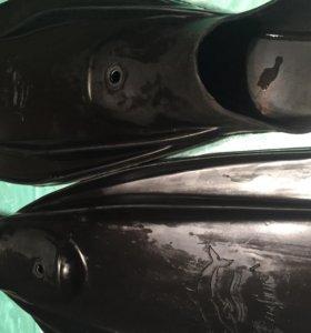 """ласты """"Дельфин"""" резиновые"""