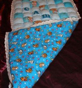 Бортики в кровать, олеяла-бомбоны