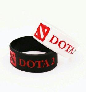 Браслет резиновый DOTA 2