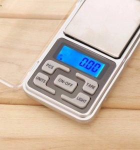 Весы ювелирные электронные карманные 200 г/0,01 г