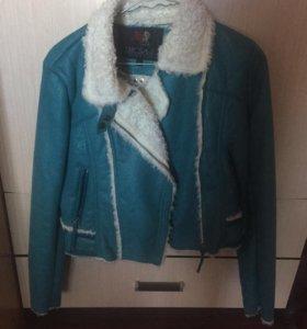 Дубленка/ куртка женская