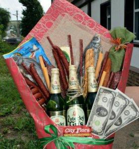 Оформление подарков и флористика