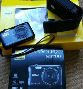 Цифровой фотоаппарат Nikon CoolPix S3700,20.48Mpx