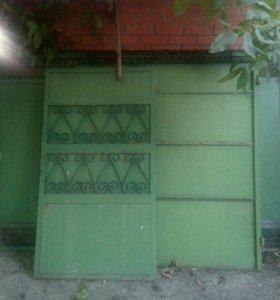 Металлические секции(забор)