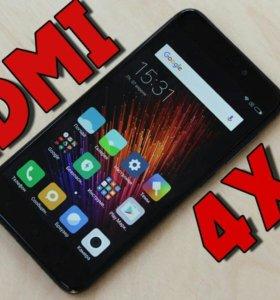 Xiaomi redmi 4X 3Gb/32Gb новый