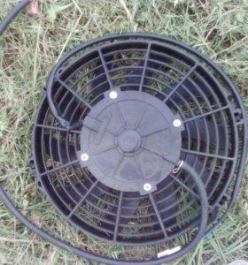 Вентилятор охлаждения Cf-moto с дренажом