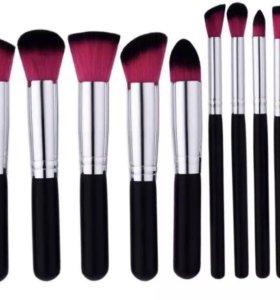 Кисти для макияжа (10шт)