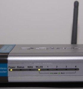 Wi-Fi роутер маршрутизатор D-link Di-524