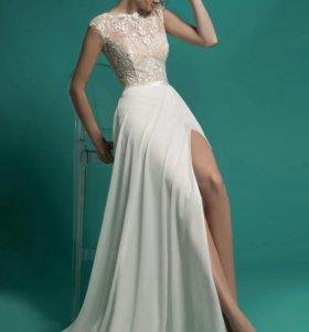 Шикарное свадебное платье Gabbiano