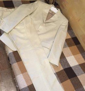 Мужской костюм (пиджак, брюки) размер 44 рост 170