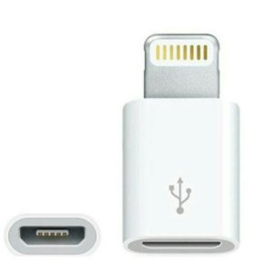 Адаптер Apple (Lightning/ microUSB)