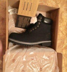 Ботинки Timberland зимние НОВЫЕ