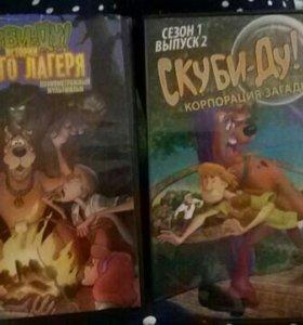 """DVD диски """"Скуби-Ду""""!"""