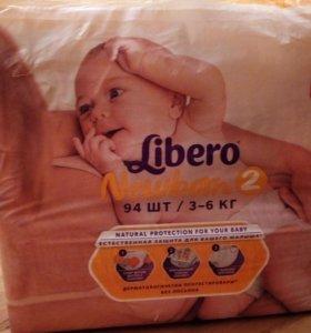 Подгузники Libero Newborn 2