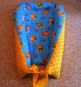 Продам новый кокон- гнездышко для новорожденного
