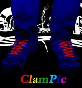 Эластичные силиконовые шнурки ClamPic classic
