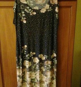Платье вискоза.