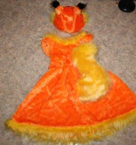 Продаётся карнавальный костюм белочки