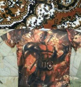 Новая футболка Дэдпул