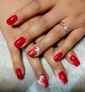 Моделирование,дизайн ногтей_наращивание,гель-лак