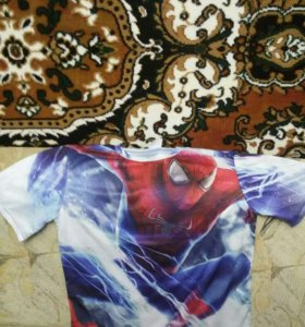 Новая футболка Spiderman