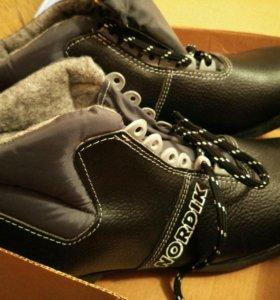 Ботинки лыжные новые р.46