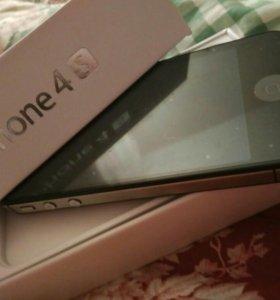 Iphone 4S черный 16 гб