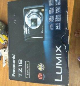 Фотоаппарат panasonic tz18 lumix