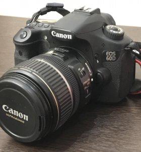 Фотоаппарат Canon EOS 60d EF-S 17-85 IS USM Kit