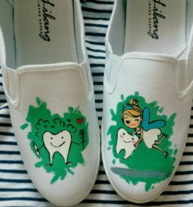 Art Shoes   слипы   кеды  роспись обуви