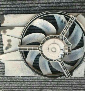 Вентилятор радиатора ford fiesta