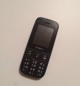 Телефон TEXET на 2 сим карты