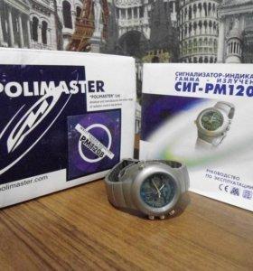 Часы, POLIMASTER РМ1208, с датчиком Гейгера
