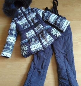 Зимний костюм Донило на девочку