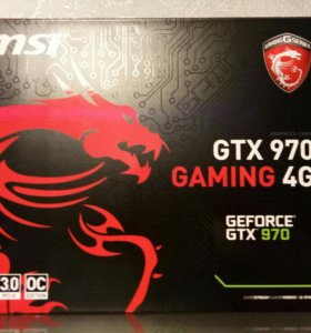 Видеокарта msi gtx 970 gaming 4g