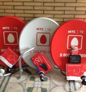 Спутниковое ТВ от МТС Продажа Установка Настройка